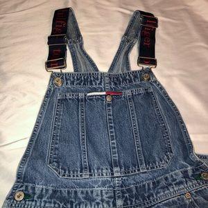 604dab8f Tommy Hilfiger Jeans - Vintage 90s Tommy Hilfiger Carpenter Bib Overalls